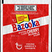 Topps - Bazooka Cherry Bubble Gum 1.25 oz wrapper - 1970's