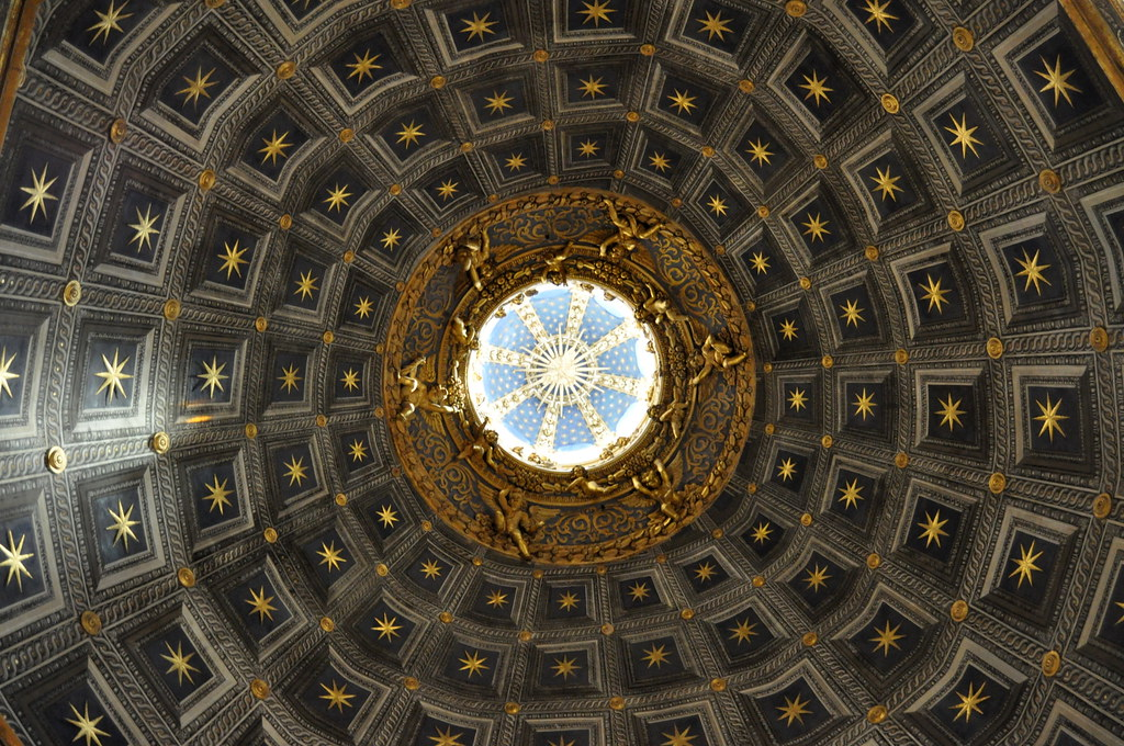 Cathedral ceiling, Siena