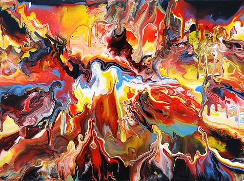Creative chaos and the art of stirring it up for Creative abstract painting