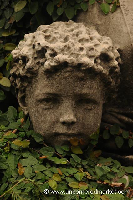 Lifelike Sculpture - Recoleta Cemetery in Buenos Aires, Argentina