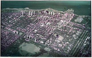 Hyde Park-Kenwood Model of the redevelopment area (1958)