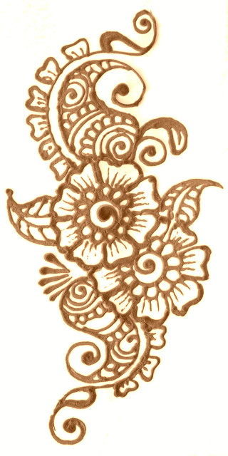 Henna on paper flickr photo sharing