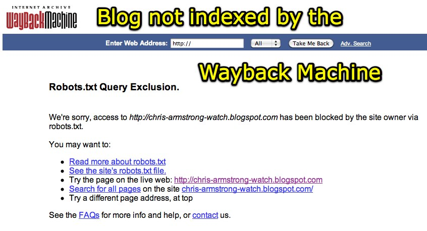 This extract from website content was blocked by robots.txt