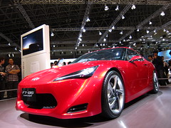nissan(0.0), toyota ft-hs(0.0), automobile(1.0), toyota 86(1.0), automotive exterior(1.0), wheel(1.0), vehicle(1.0), performance car(1.0), automotive design(1.0), auto show(1.0), concept car(1.0), land vehicle(1.0), coupã©(1.0), supercar(1.0), sports car(1.0),