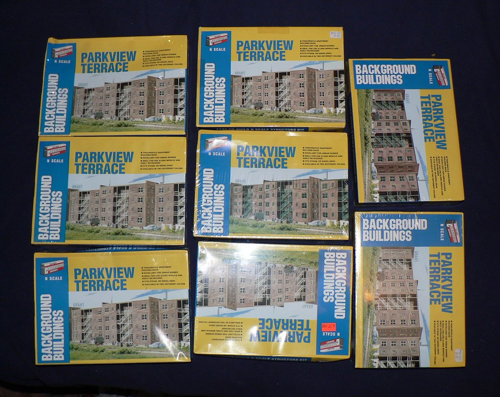 Walthers Parkview Terrace N scale | Flickr