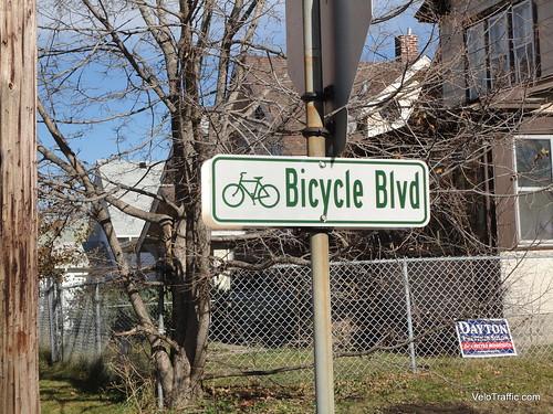 River Lake Greenway Bicycle Boulevard