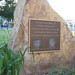 Dedication Rock: October 1998 Campus Established Former Hospital
