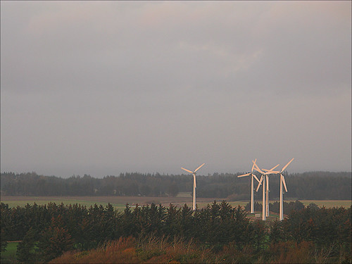 landscape windmills vennebjergkirke vennebjergchurch