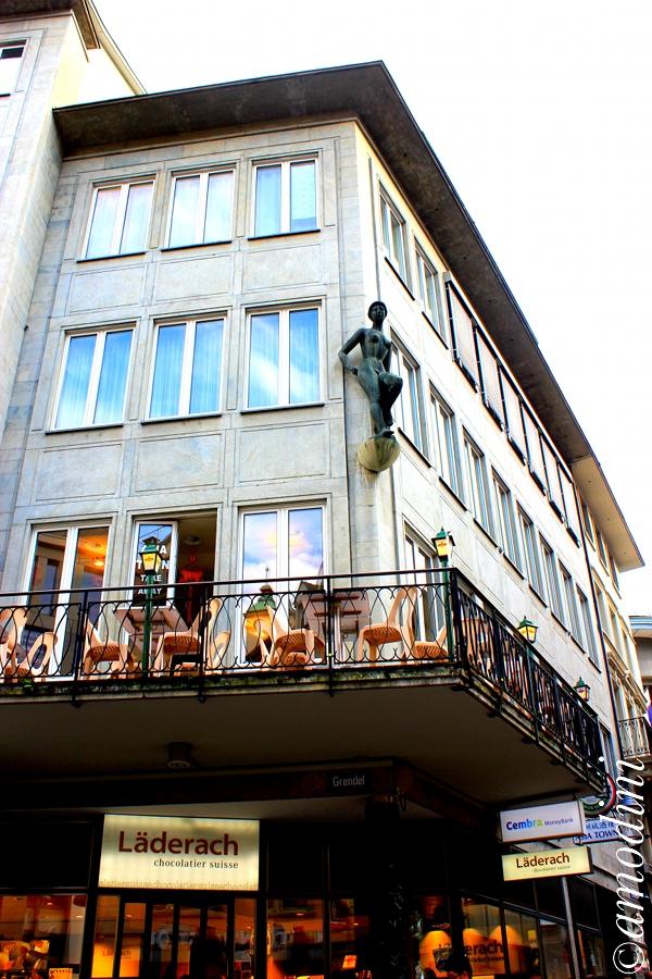 Decoration on building, Lucerne