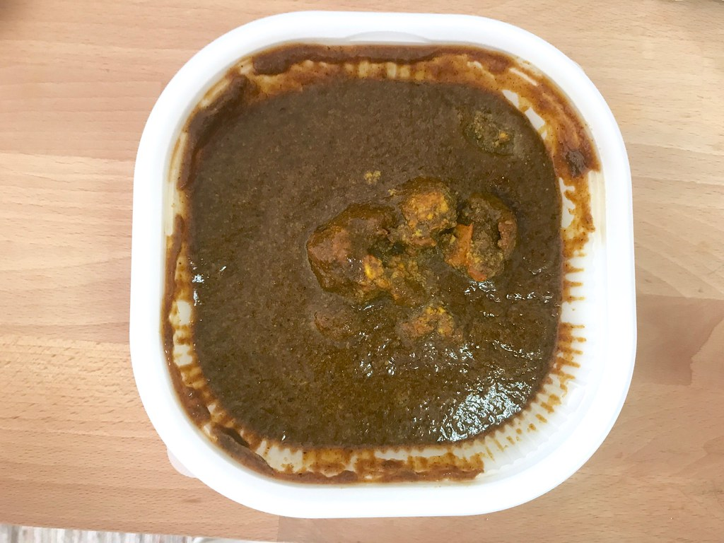 Beef Cury at 7-11 Thai - Curry Sauce