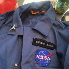 Let's do this, Bass Coast. . . . #basstronaut #basscoast #spacetoast #nasa #astronaut #suddenly #flightsuit #babecoast #wanderlust #digitalnomad #musicfestival @basscoastfest