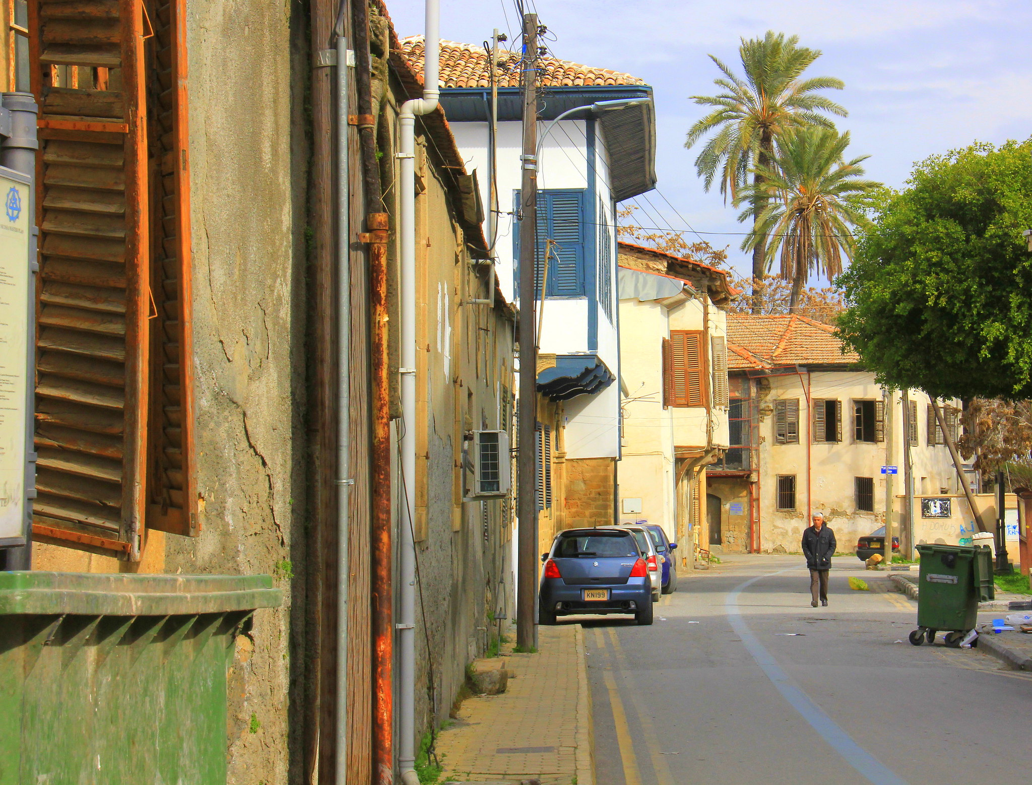 Old Nicosia lanes are full of character