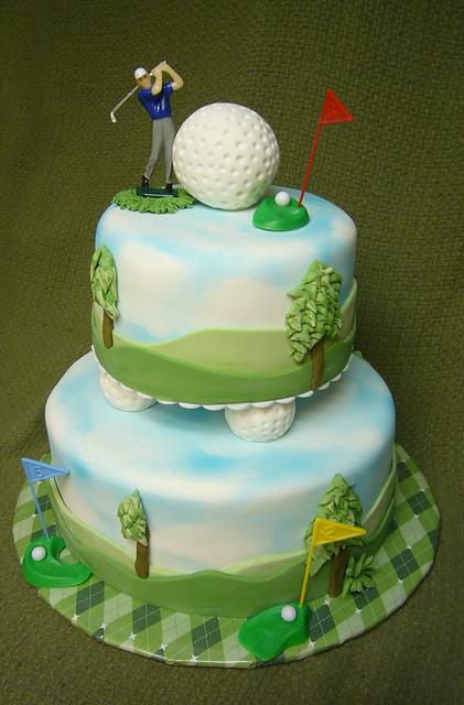 golf-themed 50th birthday cake  Explore xLaurieClarkexs ph ...