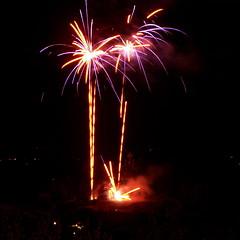 feu d'artifice au moulin Lautrec - Photo of Guitalens-L'Albarède