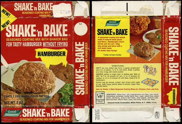 General foods good seasons shake 39 n bake hamburger n for Shake n bake fish