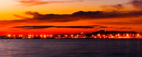 sunset red sea orange sun hot colors clouds landscape photography nikon awesome picture e re albanian albania det adriaticsea durres shqiptar albanien shqiperi durazzo d40 spiru vasken pikture kuqe diell nikond40 perendim vaskenspiruphotography ngrohte myholylandalbania
