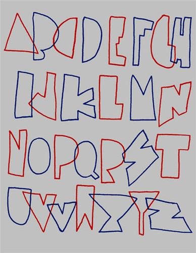 Handdrawn Hipster Font Flickr Photo Sharing