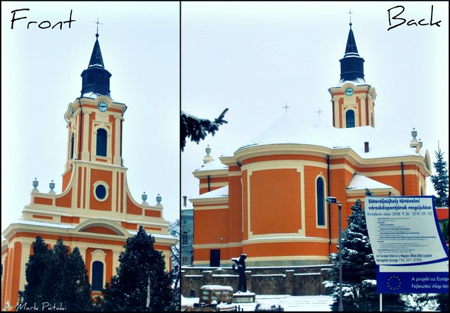 Front And Back Of Great Catholic Church S Toralja Jhely H Flickr Photo Sharing