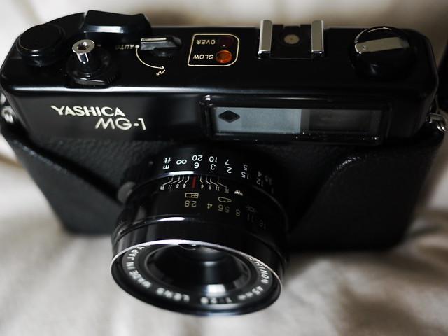 Yashica MG-1 (My late Grandad's pride and joy)