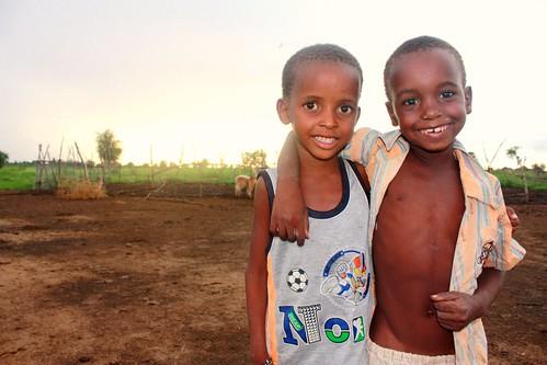 Gabou (Mali) - Enfants de berger