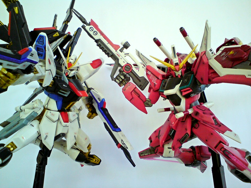 Strike Freedom And Infinite Justice Wallpaper Strike Freedom And Infinite