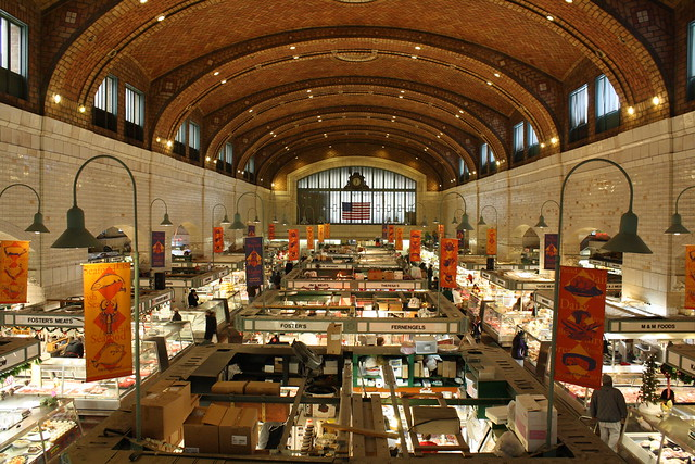 West Side Market by CC user theclevelandkid24 on Flickr