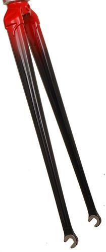 "<p>Gunnar Roadie straight-blade fork - shown with a custom two-color fade (Gunnar Black to Gunnar Red).<br /> <br /> gunnarcycles / <a href=""http://gunnarbikes.com"" rel=""nofollow"">gunnarbikes.com</a> / gunnarbikes</p>"