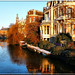 Singelgracht and icy water- Amsterdam
