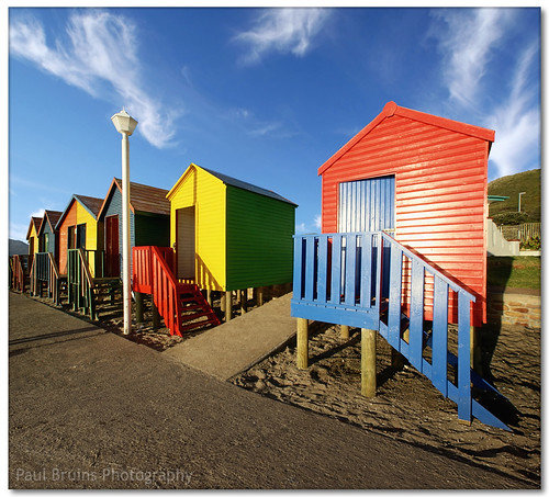 St James Beach Huts