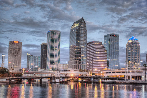 Downtown Tampa Tight Shot