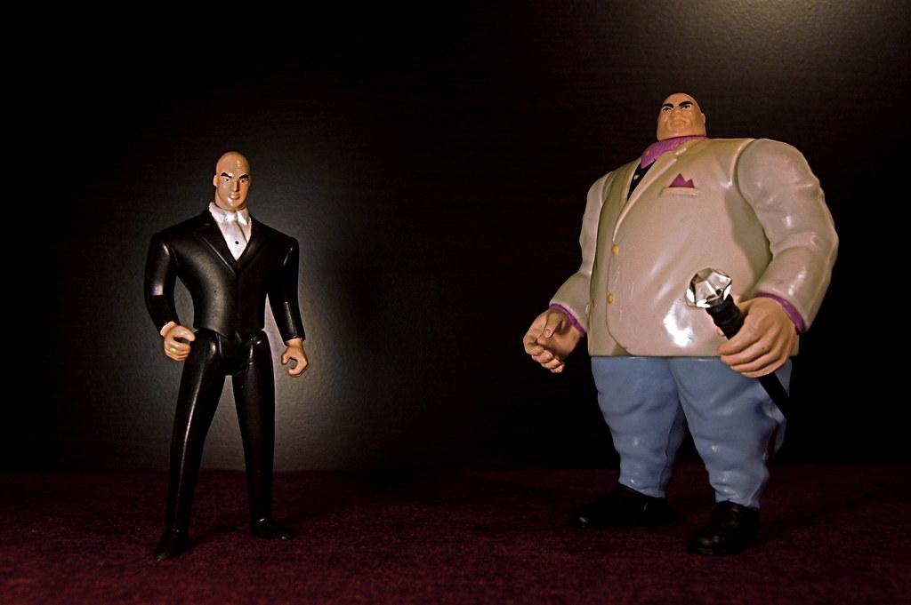 Lex Luthor vs. Kingpin (26/365)