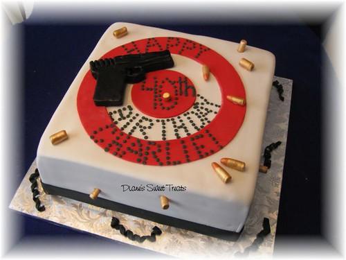 bulls eye cake
