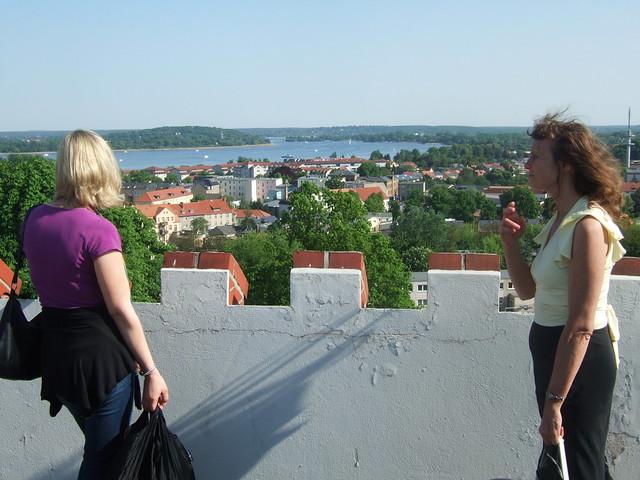 Höchster Punkt in Werder - Blick auf die Havel