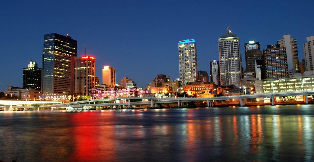 Brisbane City @ Night