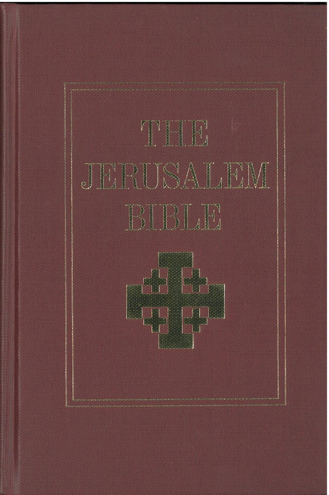 jerusalem bible  english