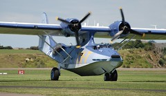 aviation, military aircraft, airplane, propeller driven aircraft, vehicle, consolidated pby catalina, aircraft engine,