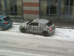 Audi A1 getarnt