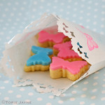 Mini Butterfly biscuits