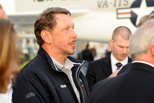 le milliardaire Larry Ellison
