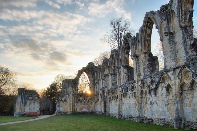 Benedictine Ruins