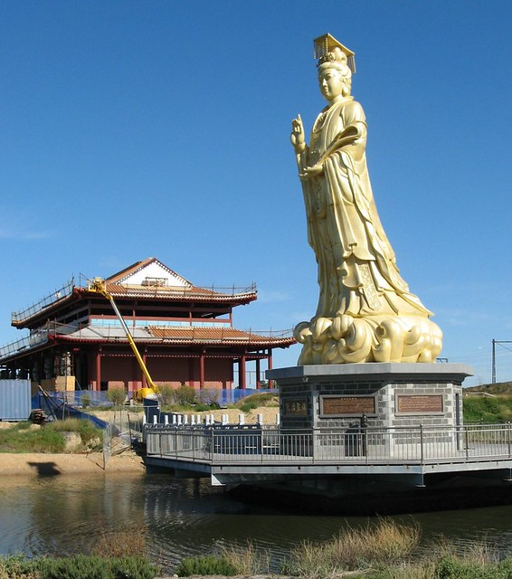 If the buddha dated in Melbourne