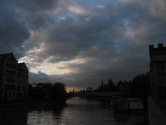 Evening, Lendal Bridge