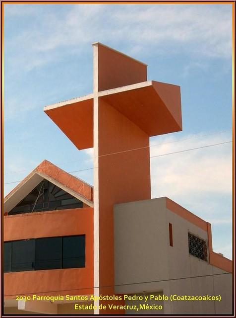 Parroquia Santos Apóstoles Pedro y Pablo (Coatzacoalcos) Estado de Veracruz,México