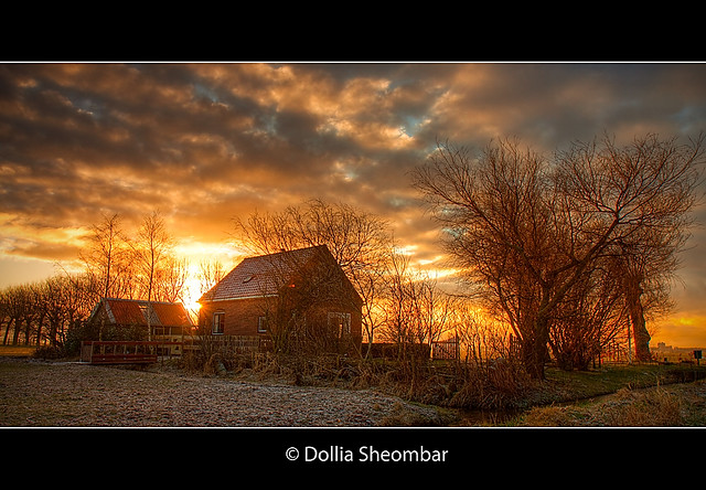 Farm House at Dawn