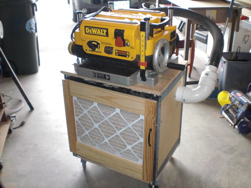 Used Sawdust Blower : Help with dw planer dust collection by