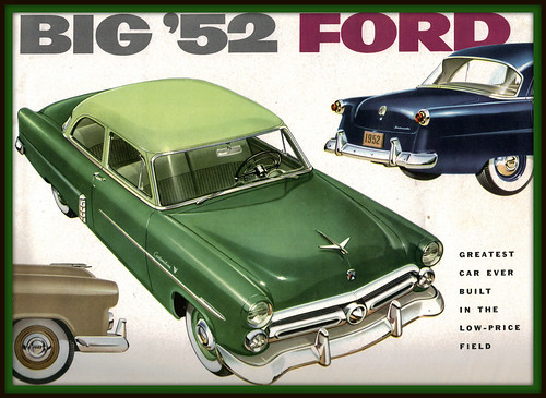 1952 ford customline 2 door sedan a photo on flickriver for 1952 ford customline 2 door