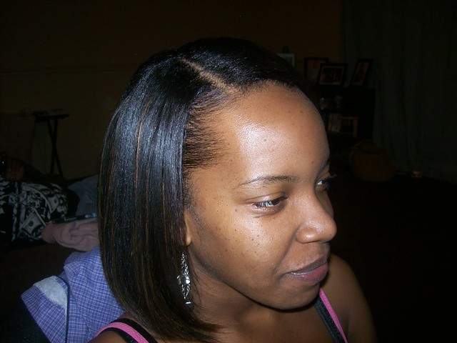 Sew in Bob with Bangs http://www.flickr.com/photos/tiffanysstyles/4456958999/