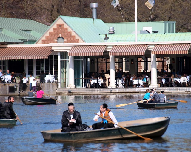 Rowing Boats, Loeb Boathouse Restaurant, Central Park, New York City ...