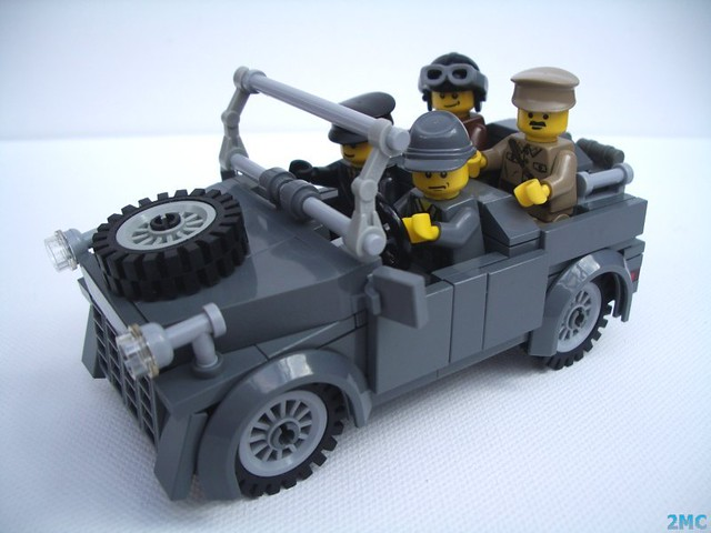 Build A Car >> WW2 German Staff Car | Whilst working on my latest building … | Flickr