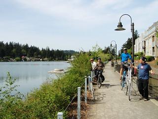Lake Oswego / Oregon city training ride